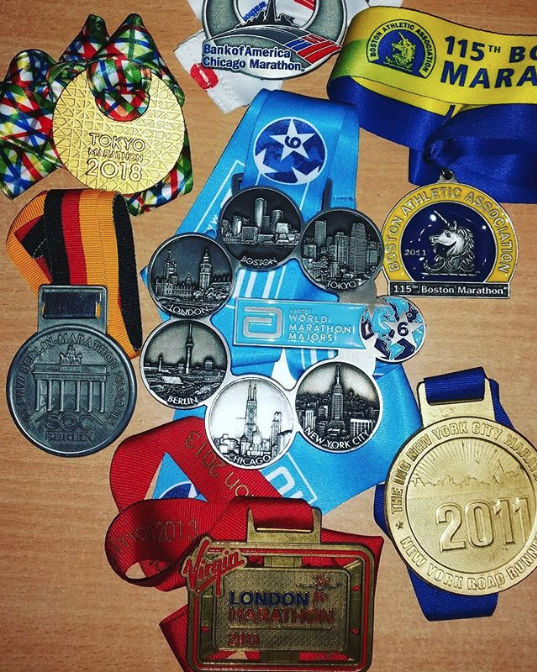 world marathon majors medals